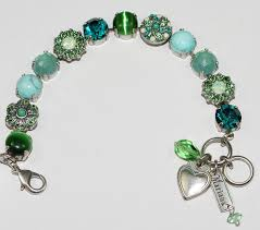 blue stones bracelet images Mariana bracelet congo green blue stones in silver setting JPG