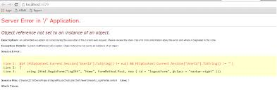 layout page null asp net mvc how to display user name from session in layout page