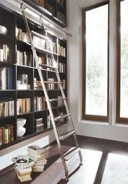 Bookcase Ladder Hardware Rockler Classic Rolling Library Ladder Track Hardware Satin