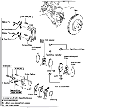 toyota rav4 brake problems i need help i just changed my front brakes and front rotors on my