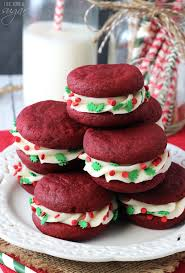 red velvet cookie sandwiches life love and sugar