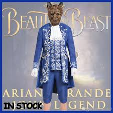 Beast Halloween Costumes Beauty Beast Costume Beast Cosplay Blue Gentleman