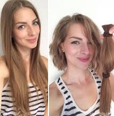haircuts after donating hair 10 extreme haircut transformations that will inspire you to get a