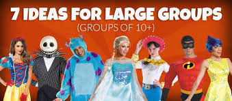7 costume ideas for large groups costumes
