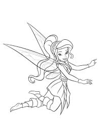 tinkerbell friends coloring pages pertaining invigorate