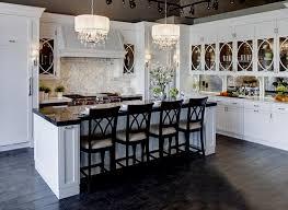 gorgeous chandeliers in kitchens over islands kitchen island
