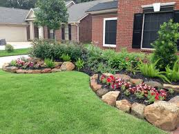 landscape simple front yard landscaping ideas amazin colourful