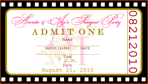 birthday invitation template printable blank ticket template mughals