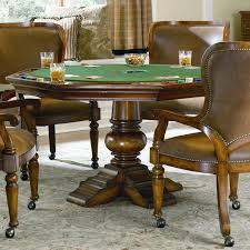 Hooker Dining Room Table by Hooker Furniture Waverly Place Reversible Top Poker Table