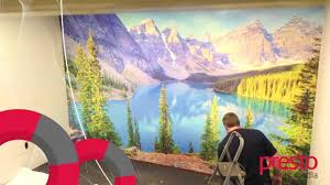 canvastac wall mural installation youtube canvastac wall mural installation