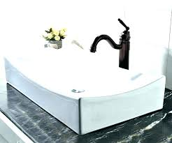 small rectangular vessel sink small rectangular vessel sink above counter vitreous china bathroom