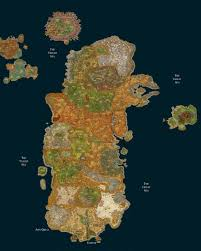 Wow Map World Of Warcraft World Of Warcraft List Links To Huge World Of