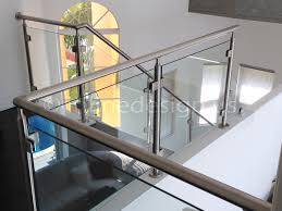 Steel Banister Rails Stainless Steel Railing Systems Square Middle Post W Square Glass
