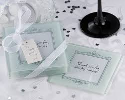 wedding favor coasters wholesale coaster favors and wholesale glass favors