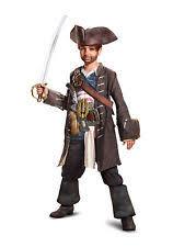 Dead Pirate Costume Halloween Jack Sparrow Kids Costume Ebay