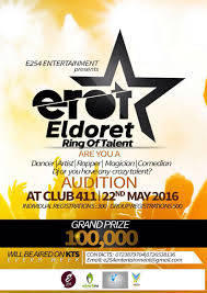 be a star and win ksh 100 000 at eldoret ring of talent series