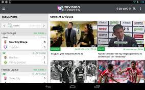 univision deportes liga mx mls fútbol en vivo android apps on