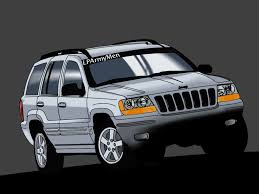 jeep vector jeep grand cherokee by lparmymen on deviantart