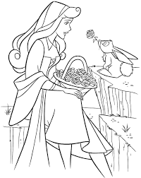 sleeping beauty coloring pages aurora dancing coloringstar
