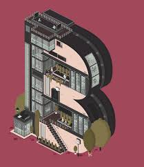 an architectural alphabet amazingly detailed animated gifs by