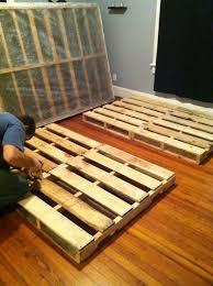 How To Make Bed Frame How To Make A Pallet Bed Frame Bed Frame Katalog A24520951cfc