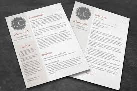 cv and cover letter conservative cv cover letter resume templates creative market