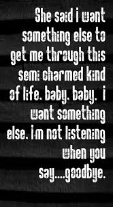 Third Eye Blind Latest Album Third Eye Blind Semi Charmed Life Song Lyrics Song Quotes