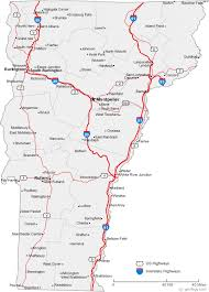 usa map vt map of vermont cities vermont road map