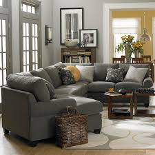 cu 2 left cuddler sectional sofa bassett home furnishings cuddler l shaped sectional