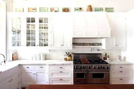 White Kitchen Cabinets With Glass Doors Enchanting Beveled Glass Kitchen Cabinet Door Ideas Net Doors Home