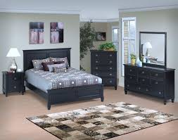Bedroom Black Furniture Tamarack Black New Classic Furniture