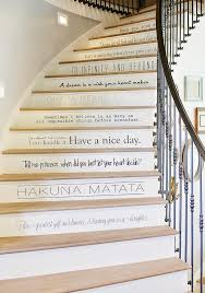 decorative stair risers with designs for all tastes stairs