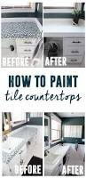 best 25 painting tile countertops ideas on pinterest tile