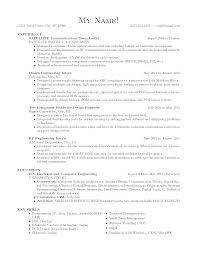 Sample Resume Templates For Freshers by Circuit Design Engineer Sample Resume 22 Mechanical Engineering
