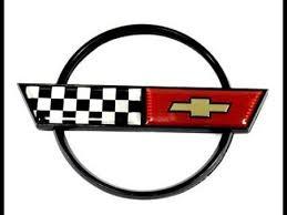 c4 corvette emblem c4 corvette 1984 90 gas fuel door emblem