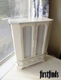 Shabby Chic Jewelry Armoire by Shabby Chic Grandfather Clock Vintage White Jewelry Box Shabby