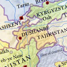 Turkestan Map Tajikistan U2013 Transport Leader Reveals How Tir In China Will Open