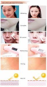 2in1 spf25 bb cream u0026 concealer 60g magic makeup anti uv