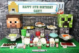 minecraft party supplies minecraft party ideas