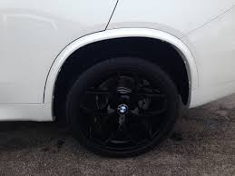 Bmw X5 Black Rims - style 215 gloss black wheels fitted on alpine white f15