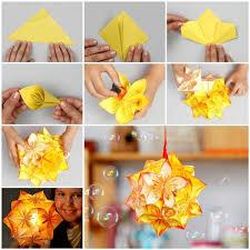 creative ideas diy vintage origami kusudama ornaments