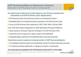 Sap Bo Resume Sample by Roadmap De Integración Sap Bw U0026amp Sap Bo