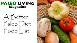 a better and easier paleo diet food list youtube