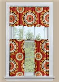 Rust Colored Kitchen Curtains Kitchen Curtains And Valances Contempocurtains