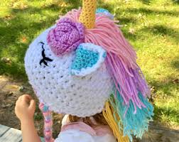 Crochet Baby Halloween Costume Unicorn Costume Etsy