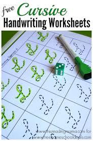 best 25 cursive handwriting sheets ideas on pinterest