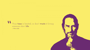 wallpaper time is limited don t waste steve popular quotes