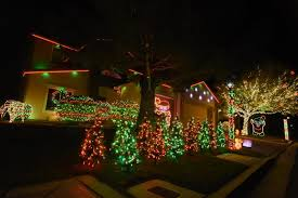 Christmas Decoration For Garage Door by 10 Houses In Nevada With Incredible Christmas Decorations