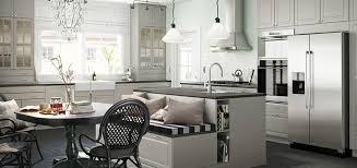 ikea kitchen furniture a mid century modern ikea kitchen for a gorgeous light filled