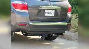 toyota highlander towing installation of a trailer hitch on a 2012 toyota highlander